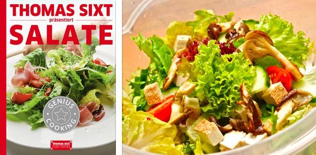 Rezepte für das iPad, Salat und Salatdressing Kochbuch von Thomas Sixt.
