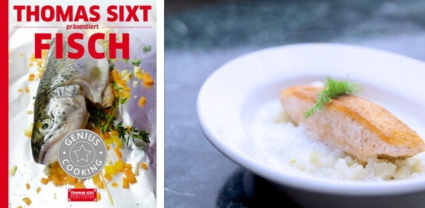 iPad Kochbuch Fisch Rezepte von Thomas Sixt