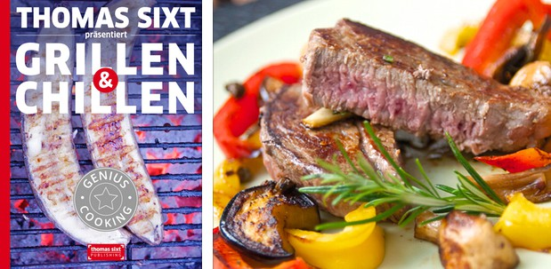 Grillen und Chillen das iPad® Kochbuch von Kochprofi thomas Sixt
