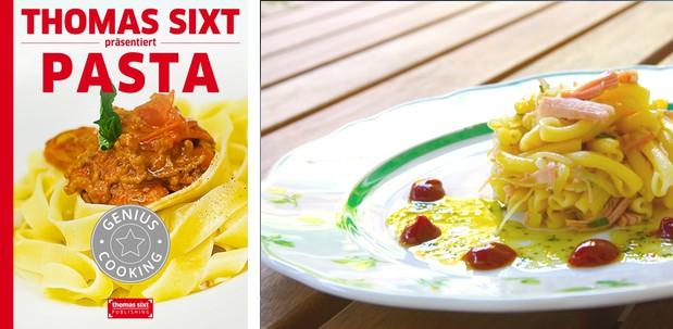 Pasta iPad Kochbuch Rezepte und Kochschule von Thomas Sixt