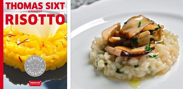 Risotto Rezepte, iPad Kochbuch von Thomas Sixt.