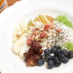 Prinzessinnen Müsli mit Ahornsirup-Joghurt und Früchten Foodbild und Rezept (c) Thomas Sixt