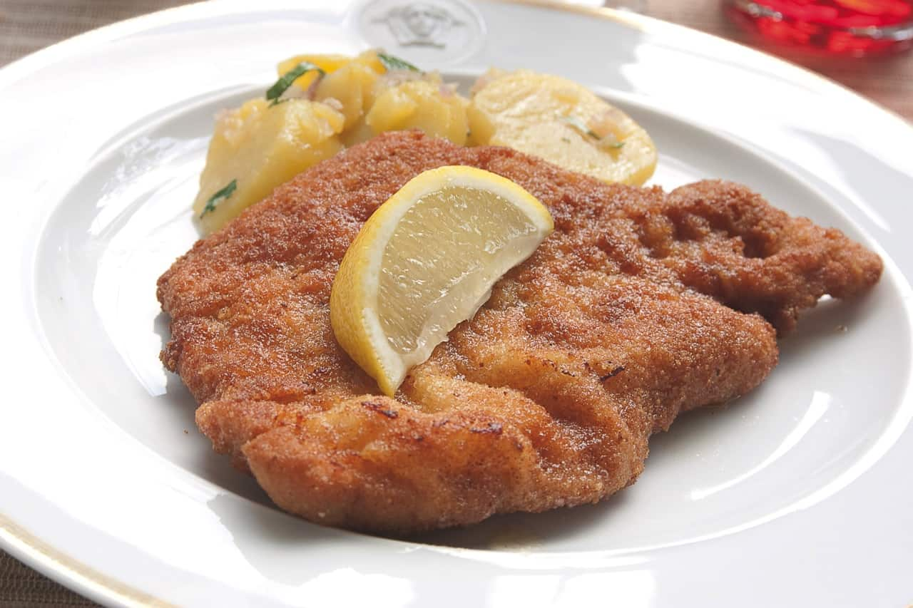 Rezept Bild zum Beitrag Original Wiener Schnitzel