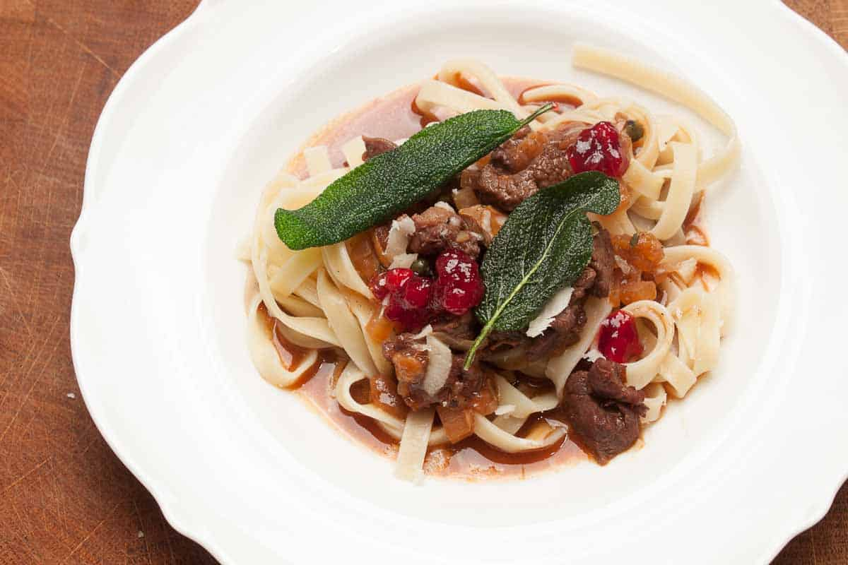 Deer Ragout and Wild Ragout Recipe with Step by Step Instructions, Cooking Video, Chef Tips