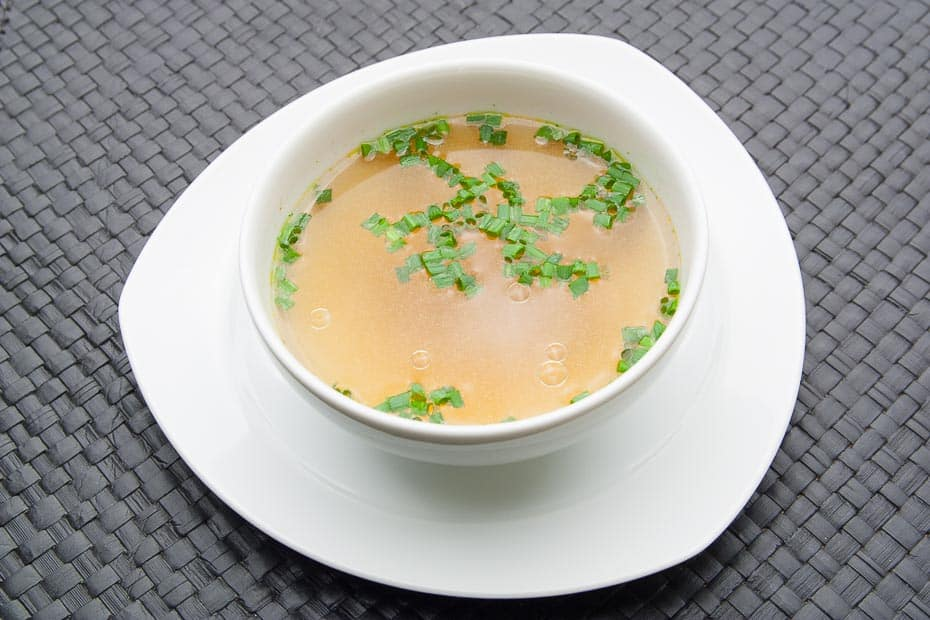 Soup for Fondue