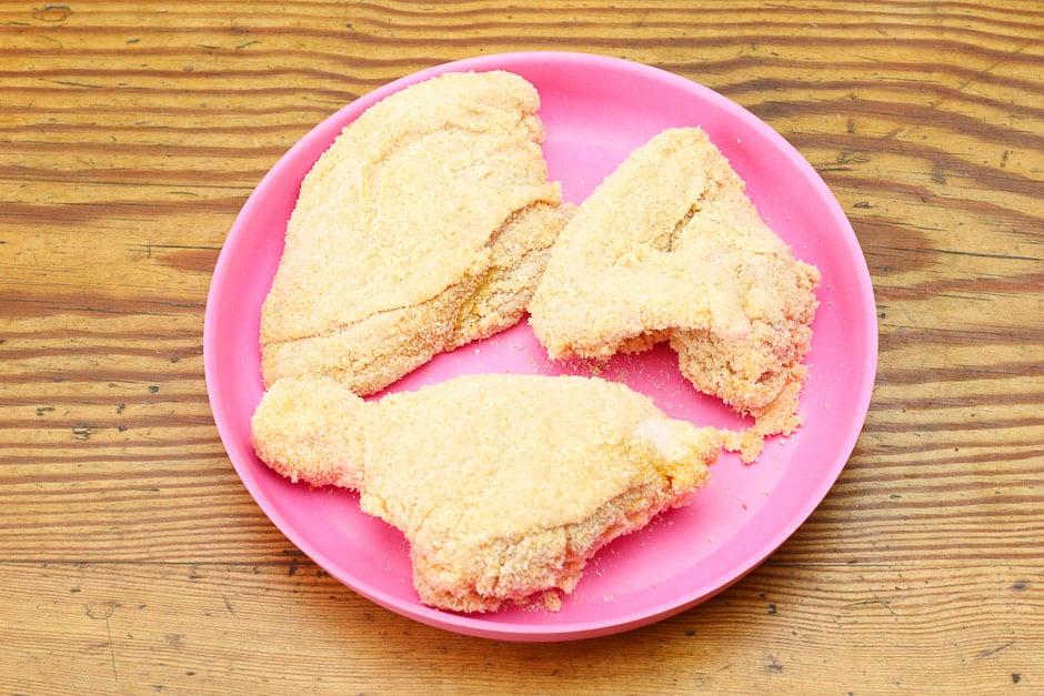 Paniertes Hähnchen Original Chicken Nuggets