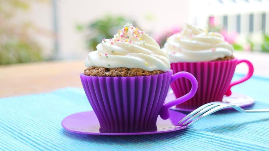 Backrezepte Titel bild Cupcakes
