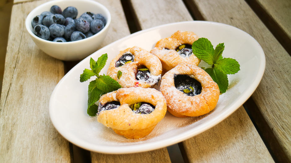 Blueberries muffins recipe picture