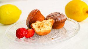Zitronen Muffins Rezept Bild. Backen für schlaue