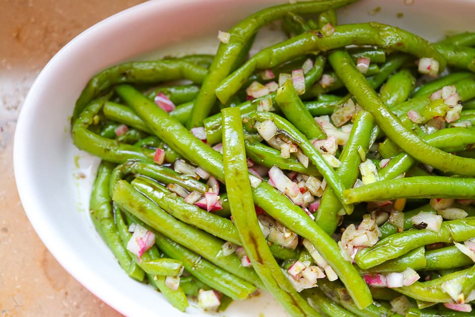 Green Bean Salad Recipe Picture