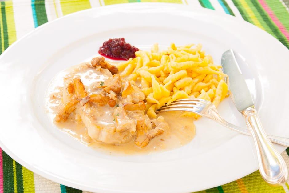 cream schnitzel recipe
