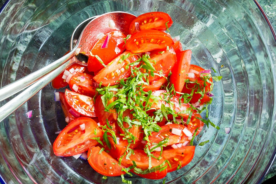 tomato salad recipe picture