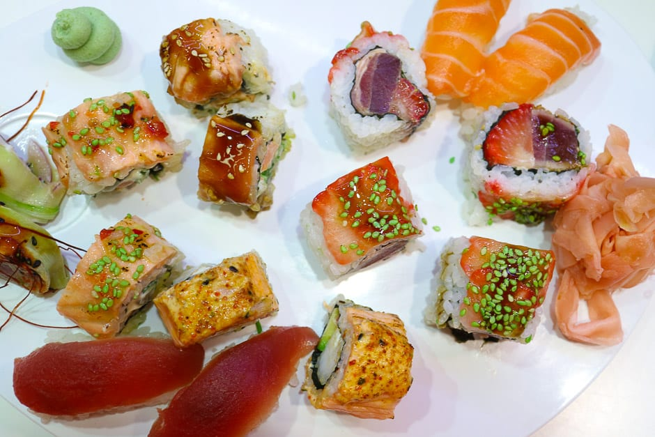 sushi creation by star chef thomas wilden