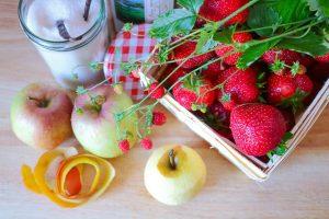 Zutaten für Erdbeermarmelade