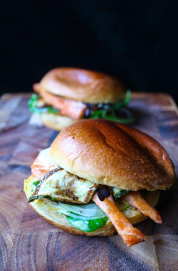 Fishburger gourmet