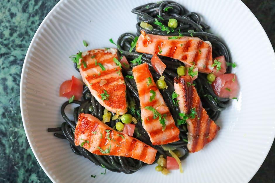 Recipe picture salmon spaghetti