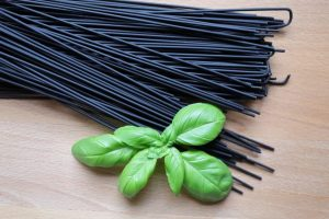 spaghetti schwarz