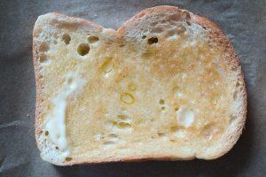 bebuttertet Toast