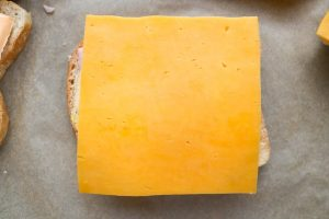Toast mit Käse