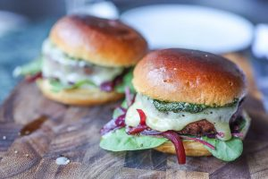 Vegetarischer Burger Rezept Bild