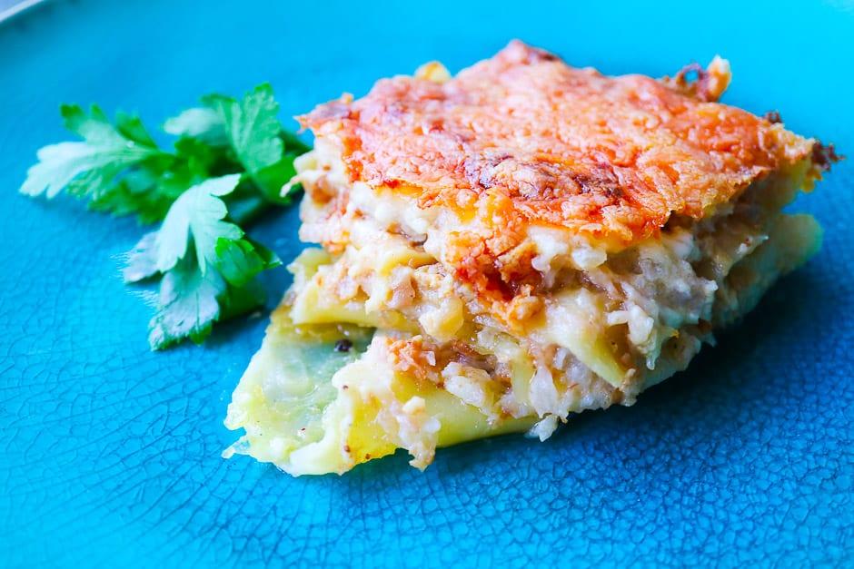 Vegetarische Lasagne Idee