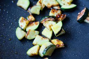 Zucchinischeiben