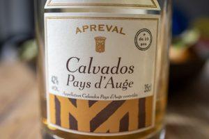 Calvados Flasche
