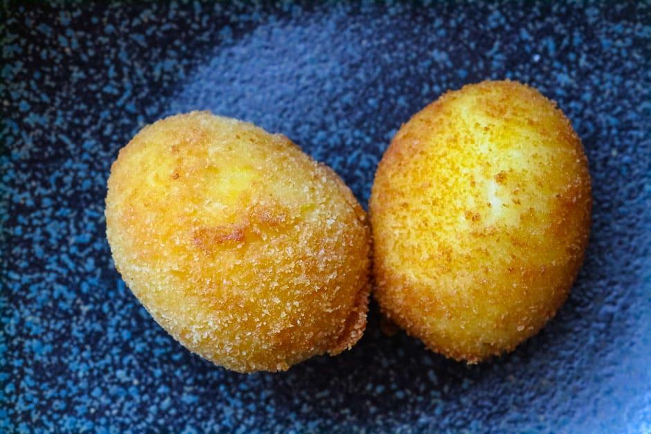 deep fried egg