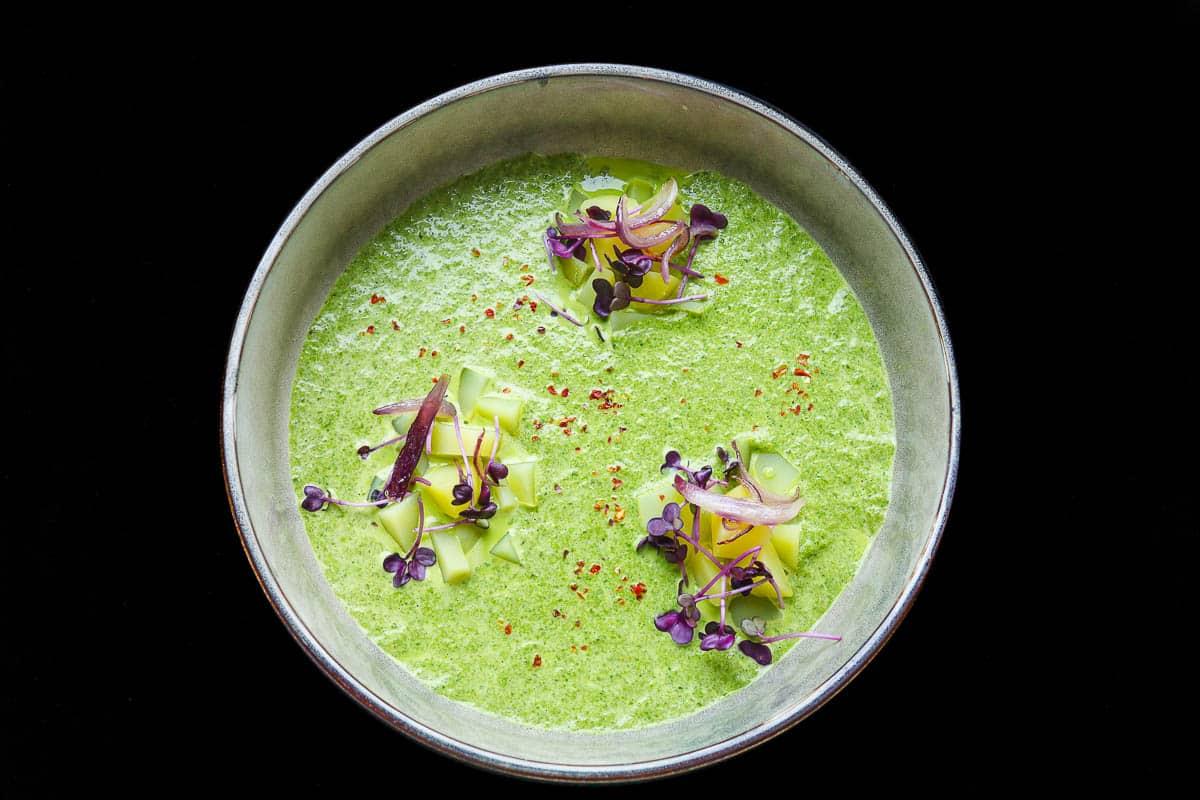 Grünkohlsuppe vegetarisch, eine schnelle und vitaminreiche Suppe